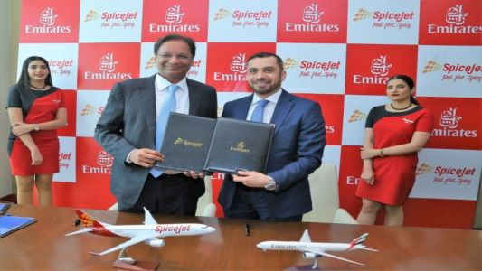 SpiceJet signs codeshare agreement with Emirates