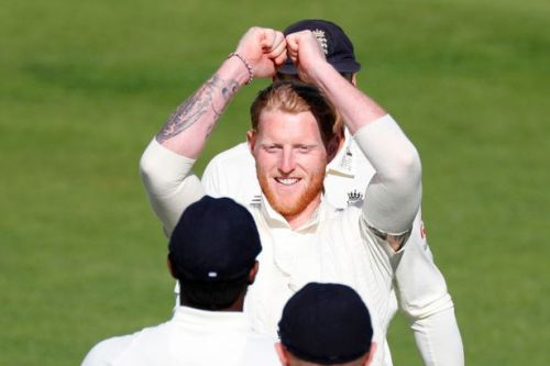 Skipper Stokes takes four wickets to keep England in hunt against West Indies