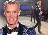 Bill Nye the science guy dances down runway at NYFW show