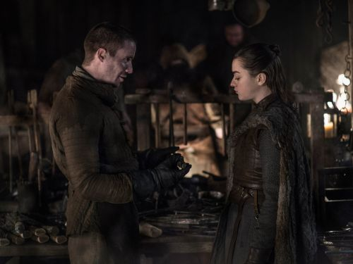 'Game of Thrones' fans are losing it over Arya's steamiest scene yet, and some are seriously disappointed