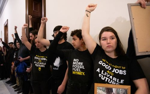 'We don't have any choice': The young climate activists naming and shaming politicians