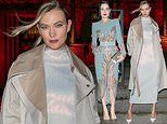 Karlie Kloss and Dita Von Teese lead the glamour at Christian Louboutin show