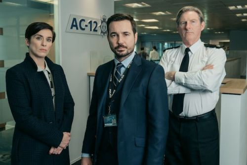 Line of Duty boss catches cast unawares in on-set behind-the-scenes photos