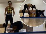 Strictly's Alex Scott DROPS partner Neil Jones on his head after 13 hours of training
