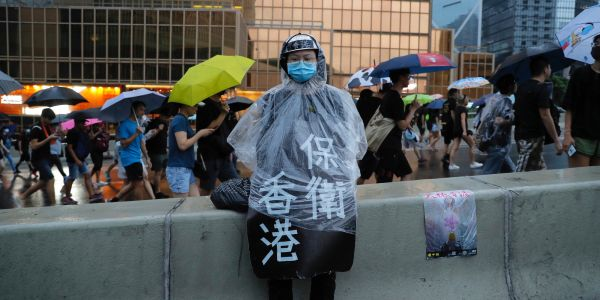 Facebook and Twitter say they've detected a Chinese propaganda campaign targeting Hong Kong protesters