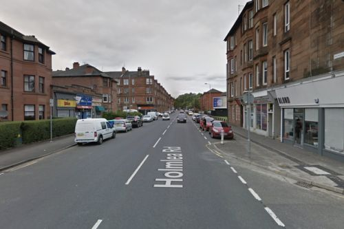 Man rushed to hospital after being hit by car in Glasgow
