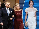 Queen Maxima and Princess Victoria of Sweden lead the glamour at banquet in Tokyo