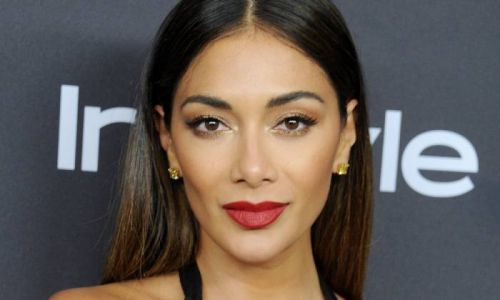 Nicole Scherzinger wows in leather-look crop top teasing exciting new music video - exclusive