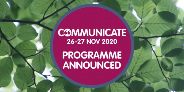 Communicate 2020 - Programme Launched!
