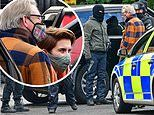 Filming of Line of Duty re-starts in earnest as stars don face masks to film dramatic scenes