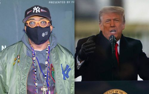 """Spike Lee says Trump """"will go down in history with the likes of Hitler"""""""