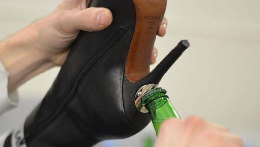 These badass boots have a built-in bottle opener in the heels