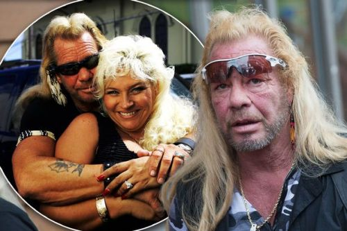 Dog the Bounty Hunter 'hit with $75,000 bill for late wife Beth's credit card'