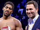 Eddie Hearn confirms Anthony Joshua will do 'everything' to make Tyson Fury fight happen