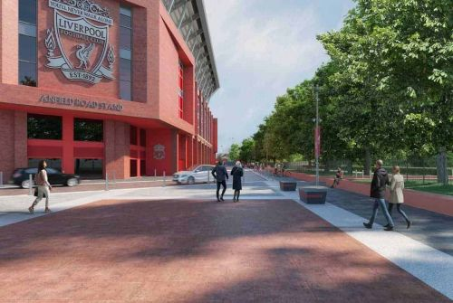 Liverpool hit by 'setback' but remain 'committed' to Anfield Road extension