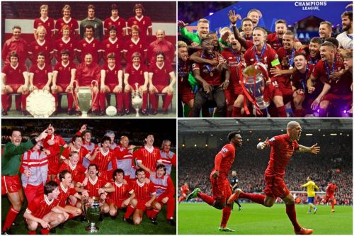 Liverpool's Best XI: Triumphs in Europe and Anfield's north London thumping