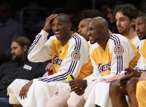 'I haven't felt pain like this since my son died': Lamar Odom struggles to speak about Kobe Bryant in emotional interview