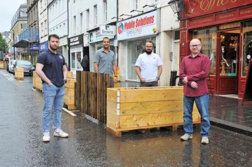 Victory for traders in battle to open up Perth High Street