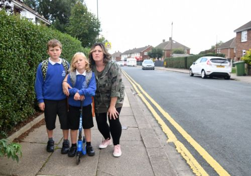 Mum says children 'will be killed' because of selfish drivers parking near school