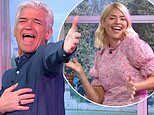 Holly Willoughby andPhillip Schofield join the nation for This Morning's dance-a-long