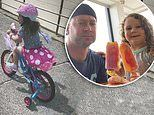 Michael Clarke enjoys a day out with daughter Kelsey Lee in Bondi