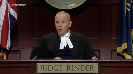 Are the cases in Judge Rinder legally binding?