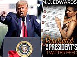 Author writes erotica about a woman who gets 'penetrated by the President's Twitter feed'