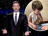 Jimmy Kimmel shares footage of son Billy's struggle with a heart condition and urges people to vote