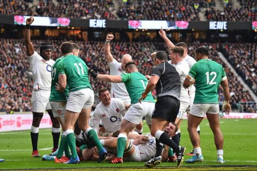 Dominant England end Ireland's Grand Slam dream
