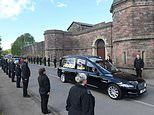 Over 100 prison staff form guard of honour for first female officer, 33, to die of coronavirus