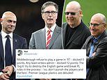 Furious football fans demand the 'Big Six' are punished for European Super League role