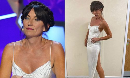 Davina McCall hits back after being called 'wrinkly' after wearing 'revealing' dress
