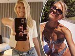 Devon Windsor flaunts statuesque figure in bikini while in home quarantine amid coronavirus crisis
