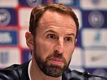 England's Gareth Southgate says he expects that Raheem Sterling 'has the hump' with him