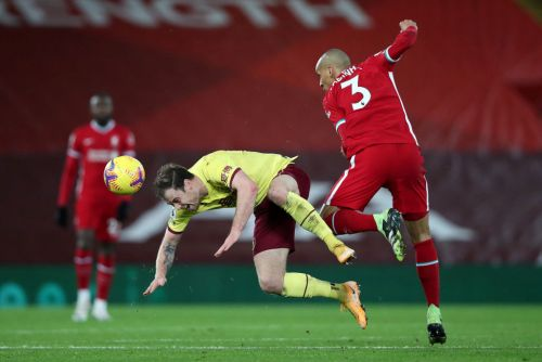 Liverpool's 45-month unbeaten home run ended by Burnley