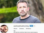 Ben Affleck's secret Instagram appears to be revealed by internet sleuth