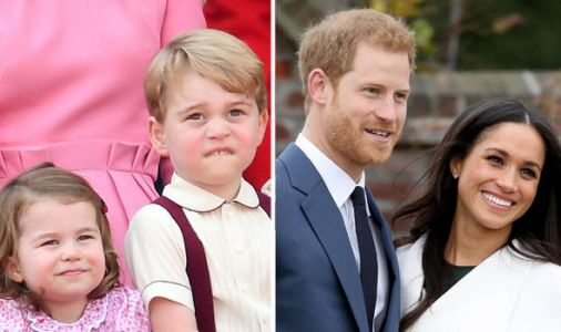 Meghan and Harry SNUB royal tradition to choose friends' kids as bridesmaids and page boys