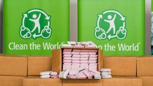 Hilton's UK hotels to send recycled soap bars to communities in need