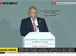Boris Johnson announces ban on UK government investment in overseas coal mining