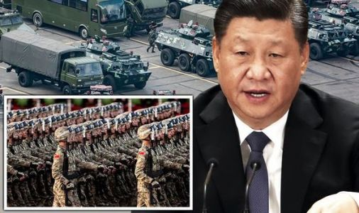 China WAR warning: Beijing prepares for 'invasion' in terrifying military rehearsal