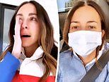 Arielle Charnas breaks down in tears as she addresses COVID-19 controversy