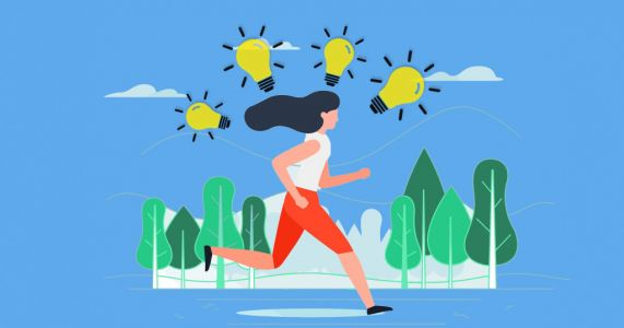 How running can make you more creative