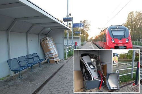 Teen dies after blowing up train ticket machine with petrol on railway station platform