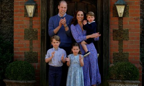 A week at home in lockdown with Kate Middleton and Prince William