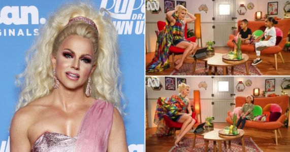 Courtney Act shares sweet video answering kids' questions about gender amid Pride Month