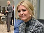 Ivanka Trump wears Zendaya x Tommy Hilfiger suit to meet human trafficking survivors