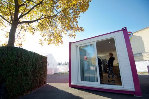 Children forced to live in 'dangerous' shipping containers due to housing crisis