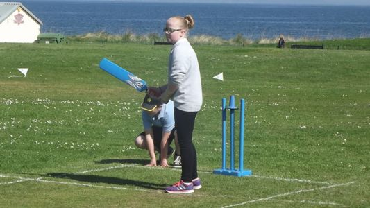 Kim Neill throws her heart and soul into new Cricket4All initiative in Moray and the Highlands