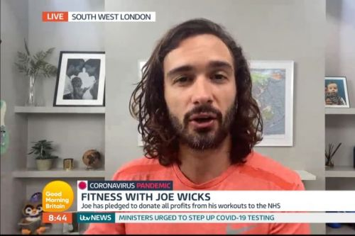 Joe Wicks donating £80,000 from videos to NHS and details mental health struggle