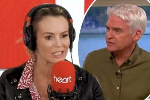 Amanda Holden claims she was IGNORED by Phillip Schofield after reaching out to him as she discusses their feud in awkward live radio interview